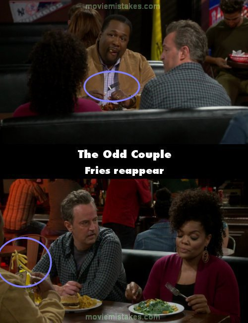 The Odd Couple mistake picture