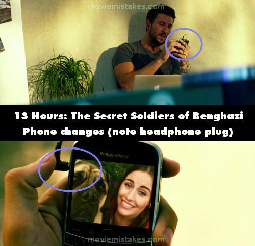 13 Hours: The Secret Soldiers of Benghazi mistake picture