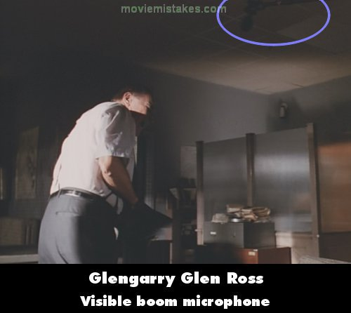 Glengarry Glen Ross mistake picture