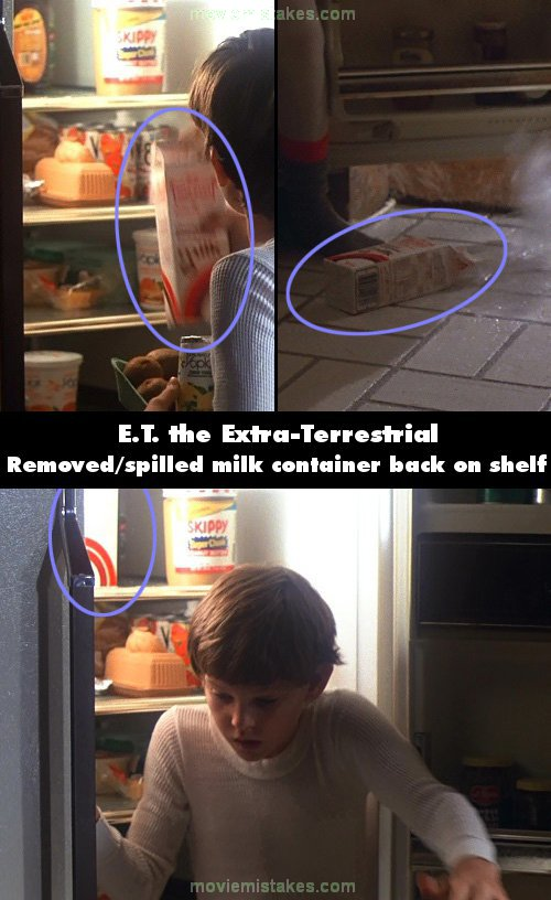E.T. the Extra-Terrestrial mistake picture