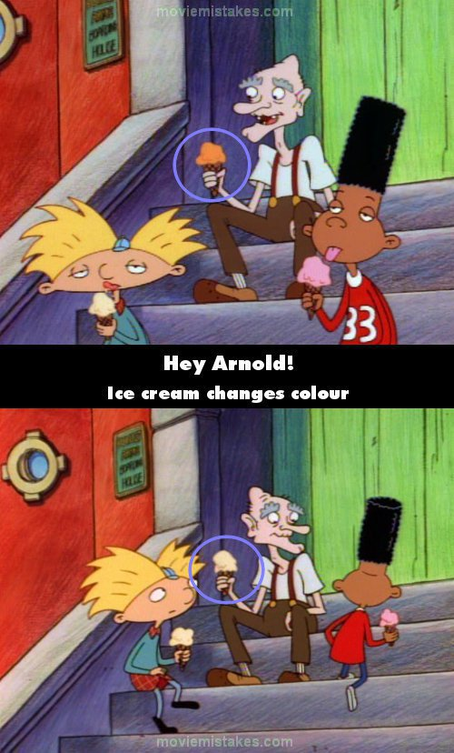 Hey Arnold! mistake picture