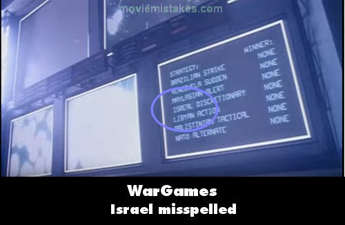 WarGames mistake picture