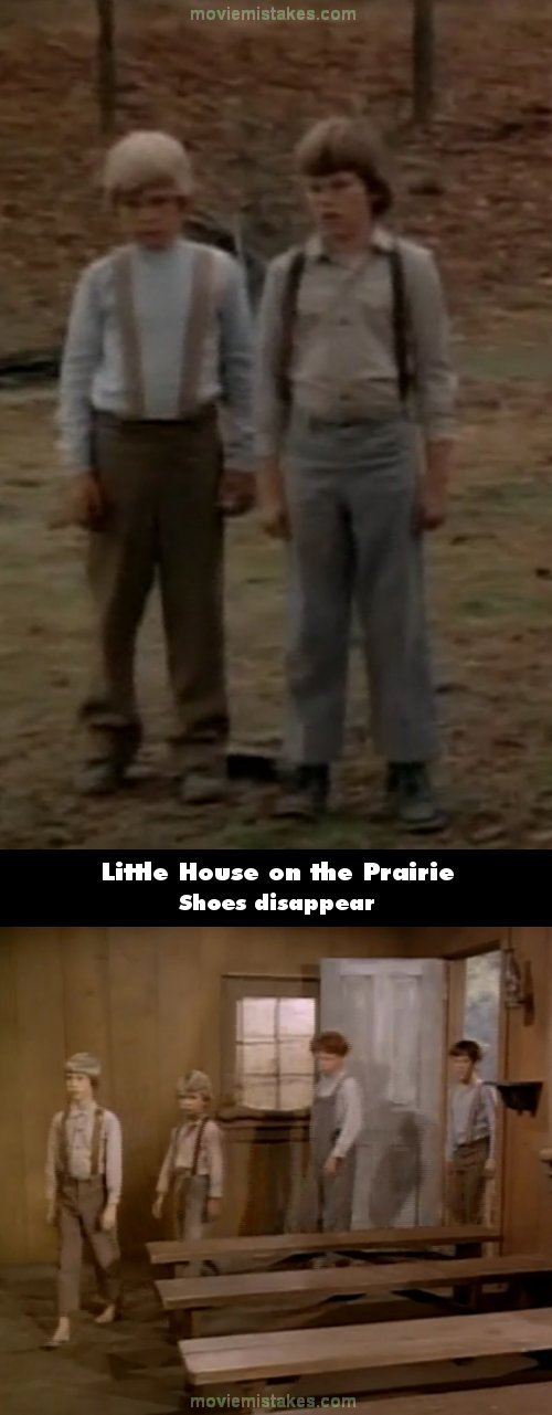 Little House on the Prairie mistake picture