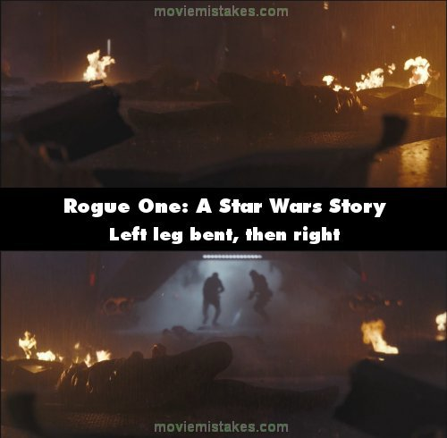Rogue One: A Star Wars Story mistake picture