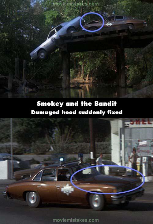 Smokey and the Bandit mistake picture