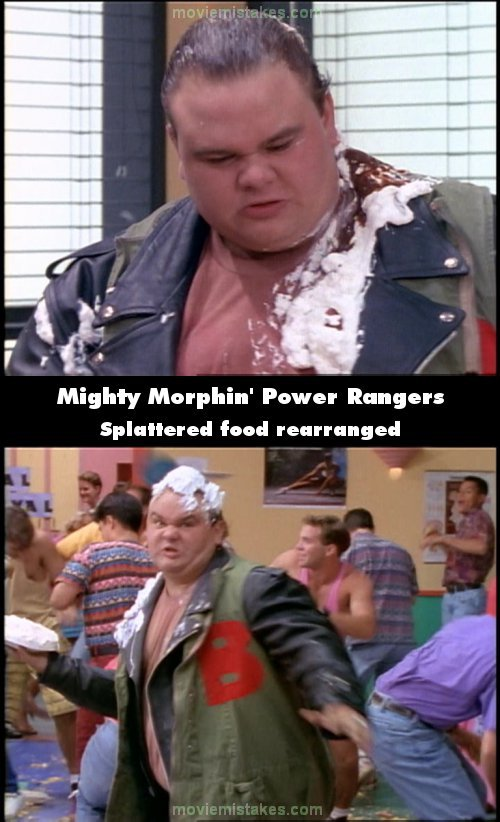 Mighty Morphin' Power Rangers mistake picture