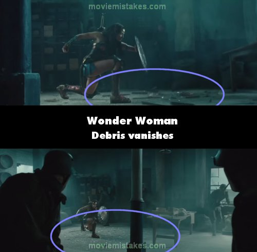 Wonder Woman mistake picture