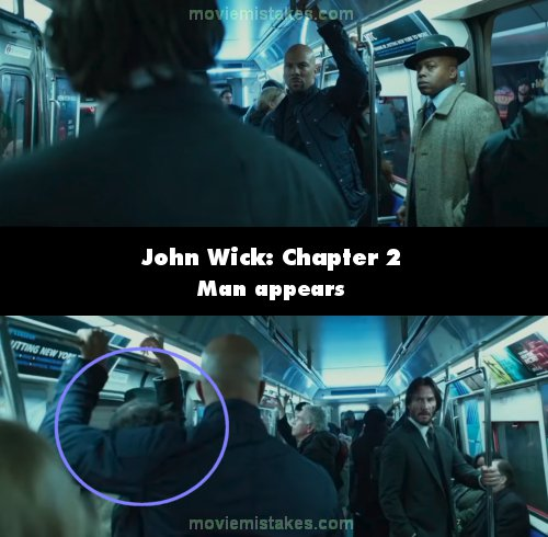 John Wick: Chapter 2 mistake picture