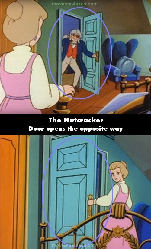 The Nutcracker mistake picture