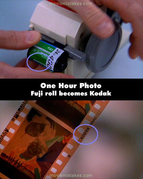 One Hour Photo mistake picture