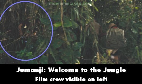 Jumanji: Welcome to the Jungle mistake picture