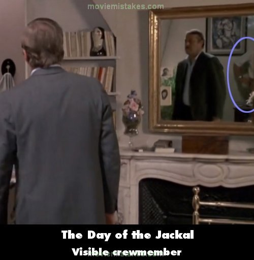 The Day of the Jackal mistake picture