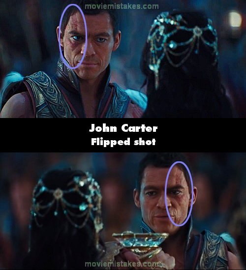 John Carter mistake picture