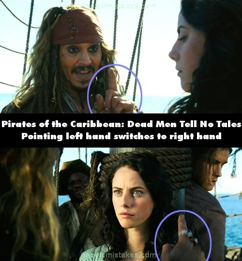 Pirates of the Caribbean: Dead Men Tell No Tales mistake picture