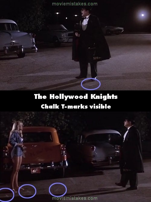 The Hollywood Knights mistake picture
