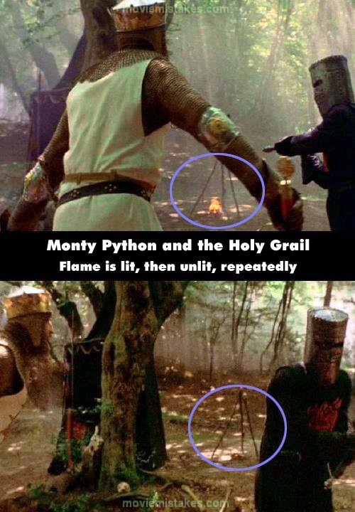 Holy grail witch scene