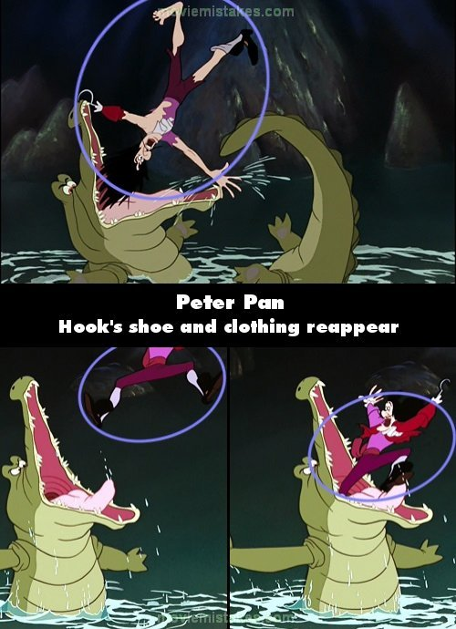 Peter Pan mistake picture