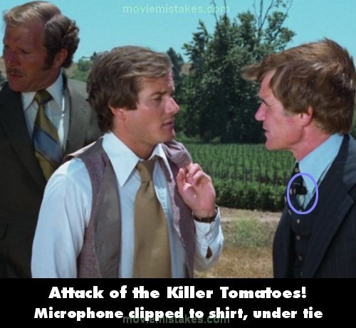 Attack of the Killer Tomatoes! mistake picture