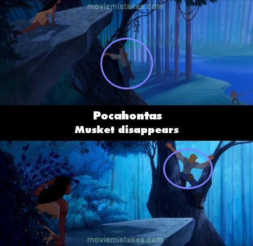 Pocahontas mistake picture