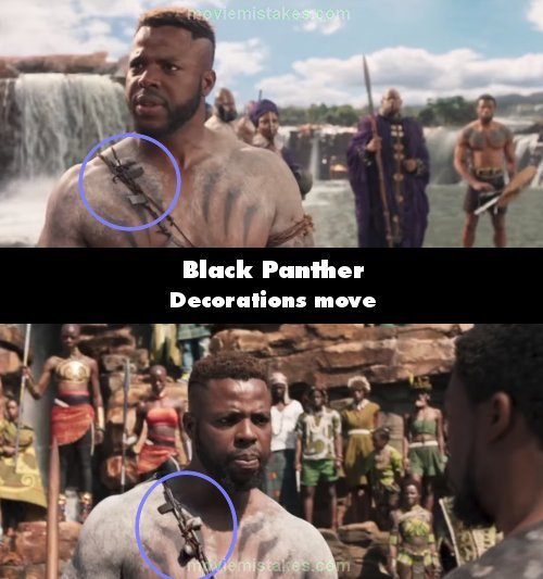 Black Panther mistake picture