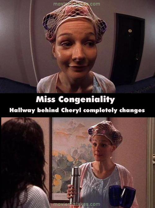 Miss Congeniality Movie Mistake Picture 17
