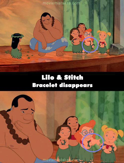 Lilo & Stitch mistake picture