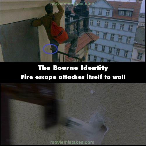 The Bourne Identity mistake picture
