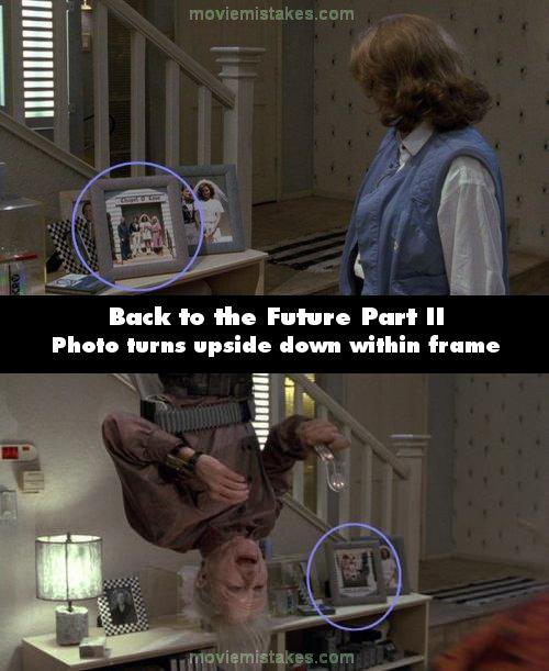 Back to the Future Part II mistake picture