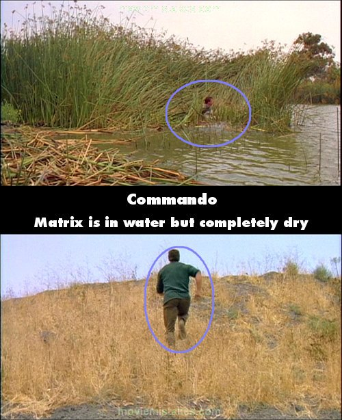 Commando mistake picture