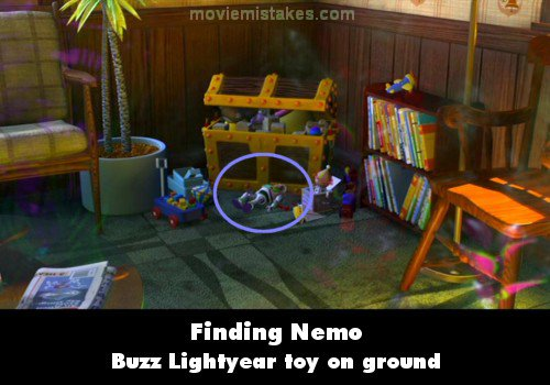 finding nemo movie mistakes goofs and bloopers all on  mistake screenshot