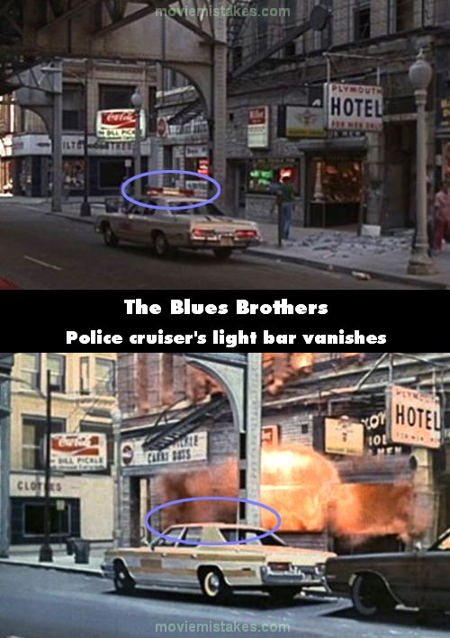 The Blues Brothers mistake picture