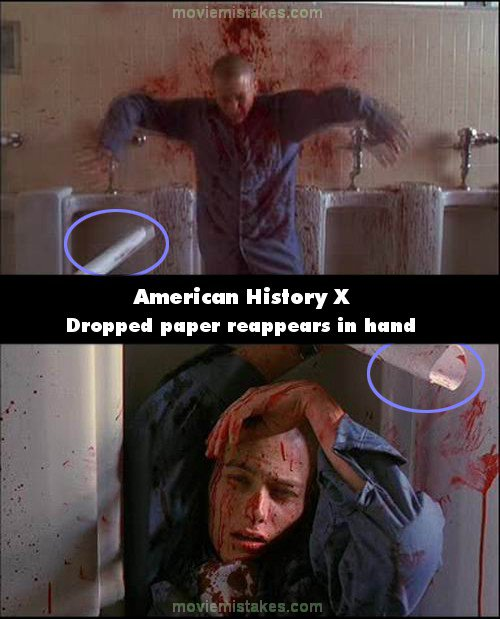 American History X 1998 Movie Mistake Picture Id 279
