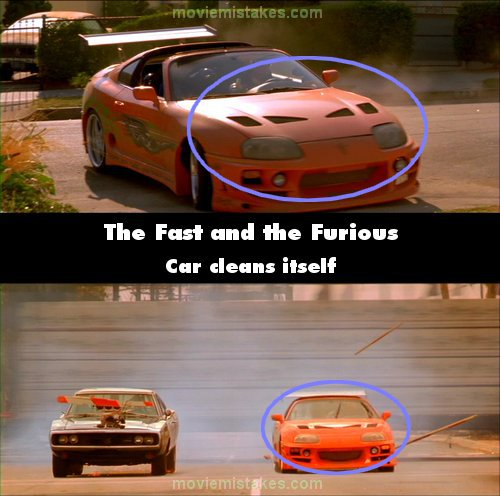 the fast and the furious 2001 movie mistake picture id