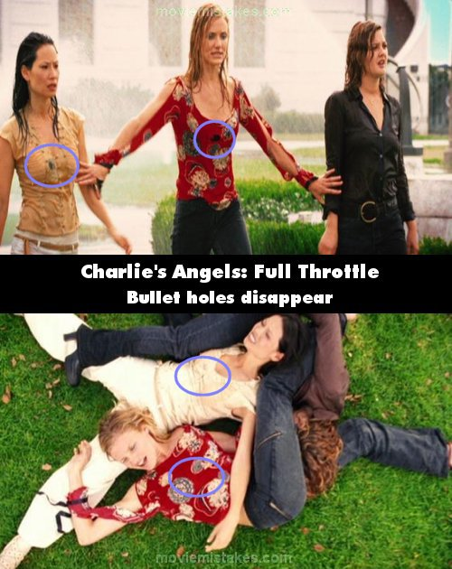 Charlie's Angels: Full Throttle mistake picture
