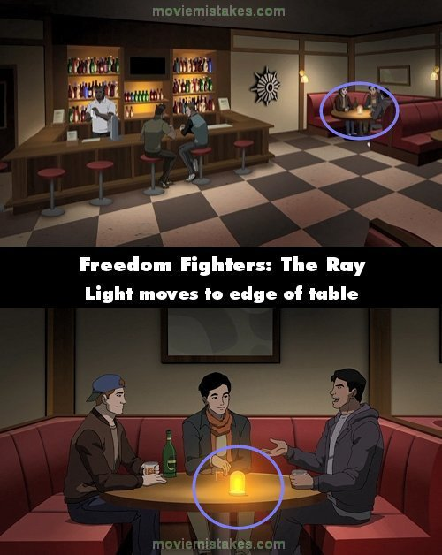 Freedom Fighters: The Ray mistake picture