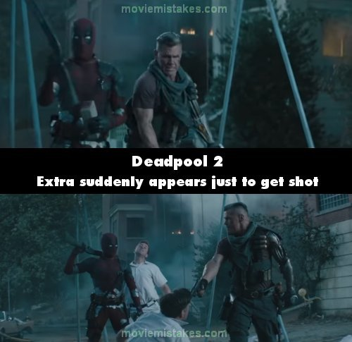 Deadpool 2 mistake picture