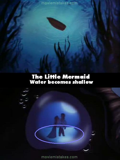 the little mermaid 1989 movie mistake picture id 29748