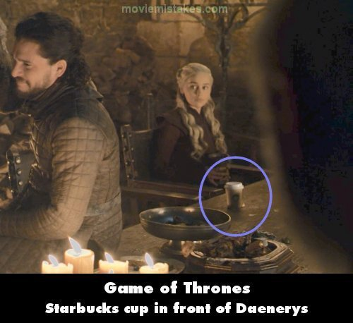 Game of Thrones mistake picture