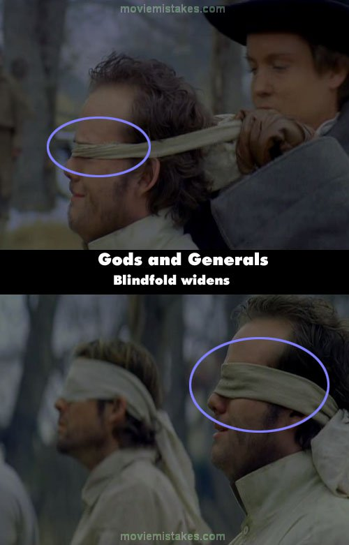 Gods and Generals mistake picture