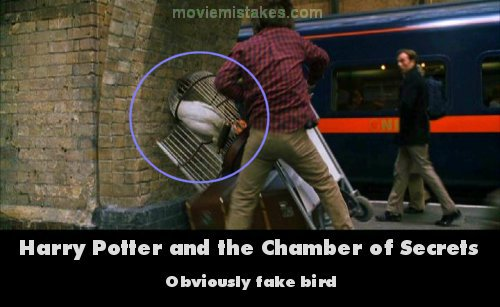 Harry Potter Cameraman : The biggest mistakes in the harry potter movies