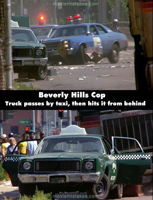 Beverly Hills Cop mistake picture