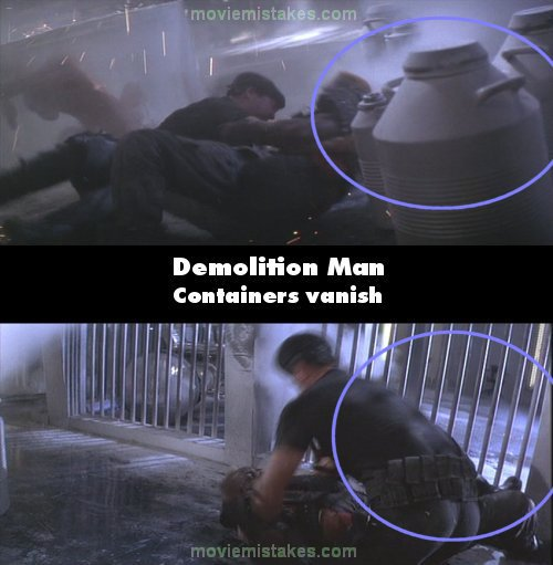 Demolition Man mistake picture