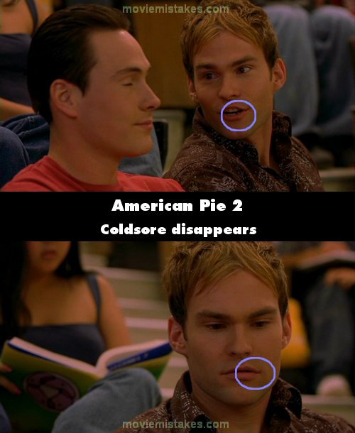 american pie 2 movie mistake picture 20. Black Bedroom Furniture Sets. Home Design Ideas