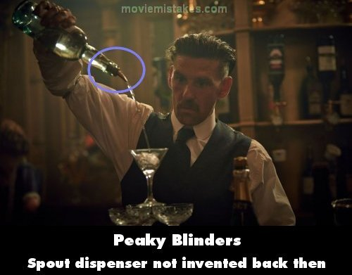 Peaky Blinders mistake picture