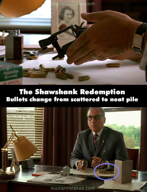 The Shawshank Redemption mistake picture