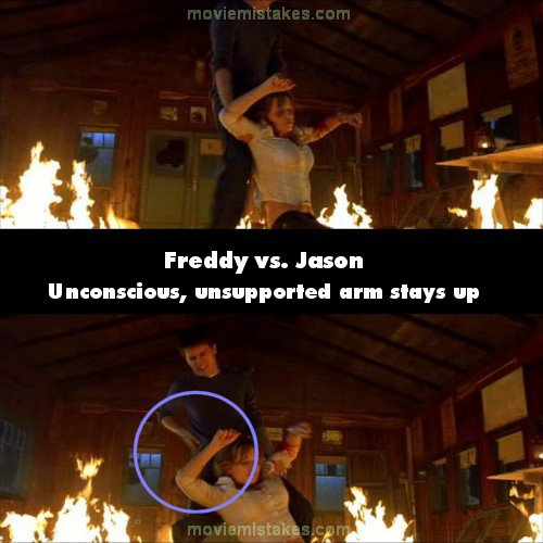 Freddy Vs. Jason mistake picture
