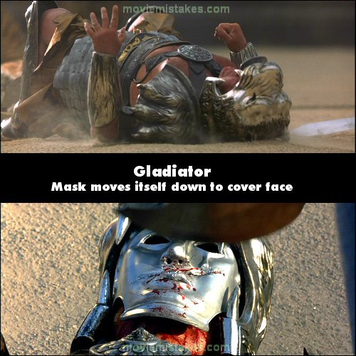Gladiator Movie Jeans Gladiator Movie Mistake