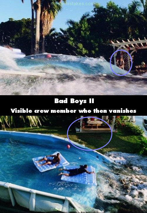 Bad boys ii 2003 movie mistake picture id 33902 - The last picture show swimming pool scene ...