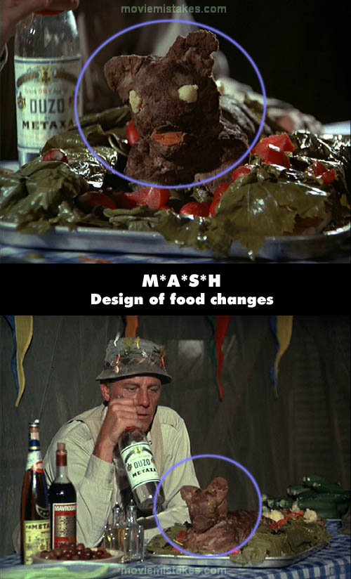 mash 1972 tv mistake picture id 34632