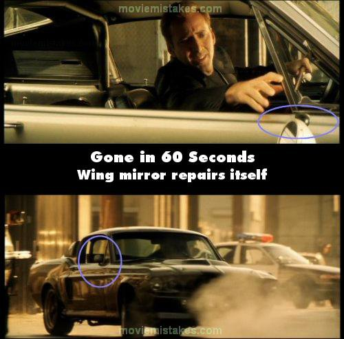 Gone in 60 Seconds mistake picture